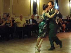 Tango Dancers at Yira Yira
