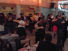 Tango Dancing at a Milonga in Buenos Aires